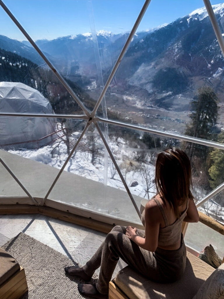 GlampEco Geodesic Dome View